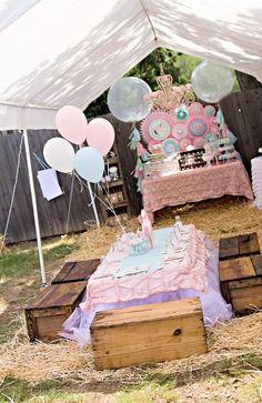 "Photo 1 of 61: Birthday ""Vintage Pony Soiree"" | Catch My Party"