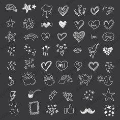 Hand drawn Heart Doodle Clipart – Scribbles, Doodle Clipart Clip Art P… Heart Doodle, Doodle Art, Doodle Frames, Album Photo Scrapbooking, Digital Scrapbooking, Heart Hands Drawing, Doodle Designs, Tattoo Designs, Mehandi Designs
