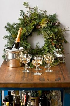 Chinoiserie Chic: Get Your Bar Cart in the Holiday Spirit(s)