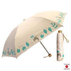 NEW My Neighbor Totoro folding Umbrella rain combined Studio Ghibli Japan | eBay