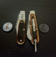 Great Eastern Cutlery #15 TC Barlow & #15 Beerscout
