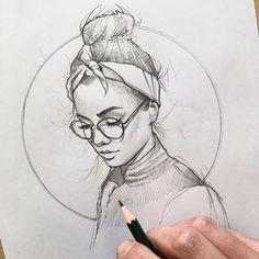 WANT A SHOUTOUT ? ! ᴄʟɪᴄᴋ ʟɪɴᴋ ɪɴ ᴍʏ ʙɪᴏ ᴛᴏ ʙᴇ ғᴇᴀᴛᴜʀᴇᴅ ! Tag #DRKYSELA Repost from @lazy.arts Quick Sketch of @carmushka . . . #sketch #portait #glasses #hair #hairbun #pencil #drawing #draw #drawings #pencildrawing #pencilsketch #pencilart #illustration #pen #artwork #artist #graphic #design #graphicdesign #contemporaryart #eyes #instaart #artsy #arte #artistic #creative #fabercastell #LADYTEREZIE via http://instagram.com/zbynekkysela