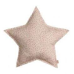 Numero 74 Mix Pink Star Cushion - Pink Flowers (Small)