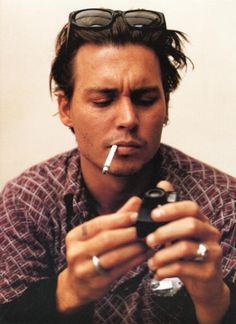 Johnny Depp - I am seriously in love with him (#1 on the Celebrity Exception list)