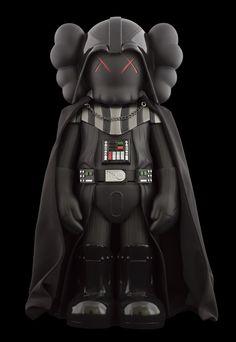 Darth Vader by KAWS <3