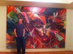 recently comissioned David Choe piece for Mark Zuckerberg