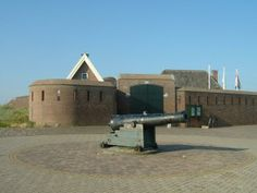 Fort Kijkduin - Den Helder  There has been a fort here for centuries.  It was taken over  by Napoleon and Hitler in both wars.   It is now a museum.