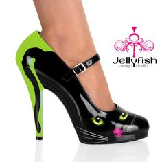 Purrcilla Mary Jane - I *might* wear these, but I DEFINITELY wouldnt pay $400 for them... Still fun...