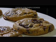 Bruno Albouze - Chocolate Chips Cookies...made with cream cheese in the batter!