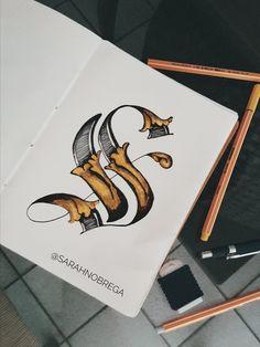 """Letter """"S"""" @sarahnobrega"""