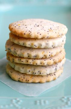 Buttery lemon poppy seed cookies are crisp and delicious! Make them ...