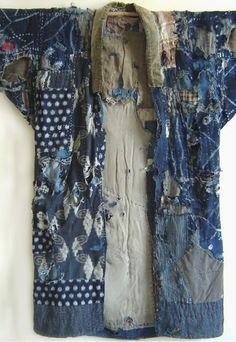 Sashiko boro kimono