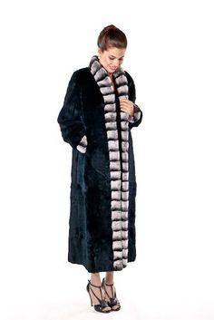 Chinchilla Rex Mandarin Trim Rabbit Coat Plus Guinea Pig Toys, Guinea Pig Care, Chinchilla Coat, Coat Outfit, White Fur Coat, Reptile Cage, Reptile Enclosure, Rabbit Fur, Mandarin Collar
