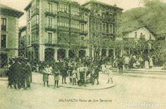 POSTAL BALMASEDA-VIZCAYA PLAZA DE SAN SEVERINO - Foto 1