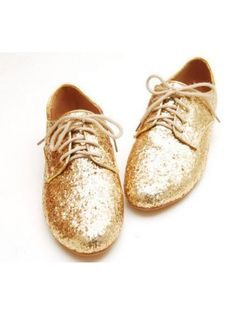 Shimmery Oxfords