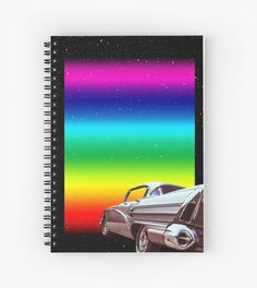 Space Rainbow Abstract Sci Fi Vintage Collage • Millions of unique designs by independent artists. Find your thing.