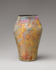 Vase Designed by Louis Comfort Tiffany (American, New York City 1848–1933 New York City)