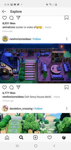 Animal Crossing Funny, Animal Crossing Wild World, Animal Crossing Guide, Animal Crossing Qr Codes Clothes, Animal Crossing Villagers, Ac New Leaf, Nerd, House Deck, Fancy Houses