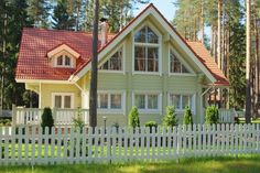 Model Swedish House : wooden home from Rovaniemi Log houses in Finland Sweden House, Lappland, House In The Woods, Log Homes, Future House, Logs, Beautiful Homes, Mansions, Interior Design