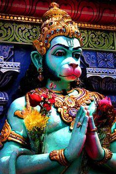 Hanuman, moral consciousness tempering instinctual urges