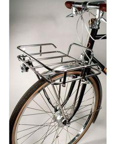 Velo Orange Porteur Rack on bike Mountain Bike Shoes, Mountain Bicycle, Mountain Biking, Cycling Bikes, Cycling Equipment, Road Cycling, Rack Bike, Bici Retro, Velo Cargo