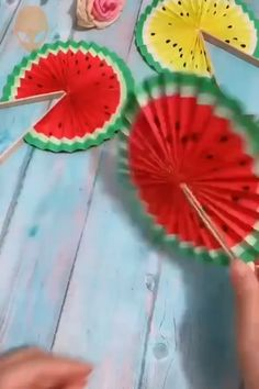 Diy Crafts Hacks, Diy Crafts For Gifts, Summer Crafts, Creative Crafts, Crafts To Do, Diy Projects, Paper Crafts Origami, Paper Crafts For Kids, Preschool Crafts