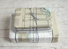 Unique Gift Wrap Ideas: Maps and Nautical Charts