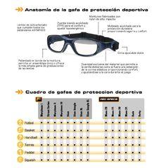 10 mejores imágenes de Gafas Protección Deportiva | Gafas
