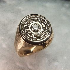 Customer Response I just received my ring Fire Fighter 39s Emblem Ring