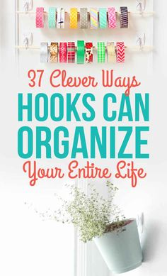 Great sunglasses storage idea by DoMeasurablyMore.com is featured on 37 Clever Ways Hooks Can Organize Your Entire Life!