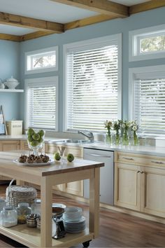 Luxaflex Timber Venetians, Kitchen Blinds Solutions