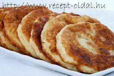 KRUMPLILÁNGOS Casserole Recipes, Bread Recipes, Cooking Recipes, Hungarian Recipes, Hungarian Food, Romanian Food, Apple Pie, Entrees, Vegetarian Recipes