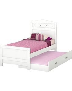 Sophie's future bed and trundle