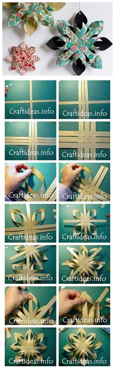 How to make paper star DIY step by step tutorial instruction | Welcome Craft