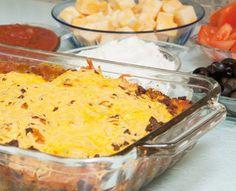 Low Carb Taco Casserole Recipes for Diabetics - Diabetic Club Diet Diabetic Recipes, Gourmet Recipes, Mexican Food Recipes, Beef Recipes, Cooking Recipes, Healthy Recipes, Ethnic Recipes, Diabetic Salads