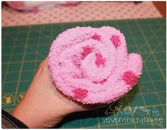 A sock Cupcake is easy to make and are great as a teacher gift!