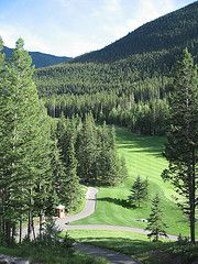 Stewart Creek Golf Course - one of the most challenging of the Canadian Rockies Golf courses.