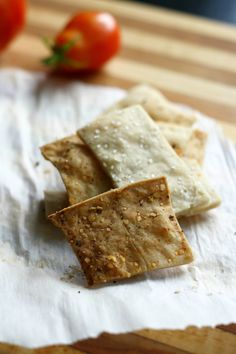 Gluten free crackers are so easy to make at home, and they are much cheaper than the brands at the store!