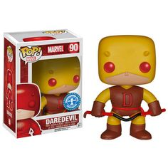 Comes with Underground Toys Sticker One of the Marvel POP! everyone has been waiting for - at long last, Daredevil. This item has been made as an Underground Toys exclusive and fills a glaring hole in