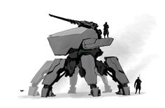 Mech by lazyMK.deviantart.com on @DeviantArt