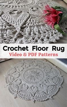 Crochet Rugs, Crochet Dishcloths, Crochet Mandala, Crochet Patterns Amigurumi, Crochet Doilies, Crochet Stitches, Crochet Basket Tutorial, Crochet Box, Cute Crochet