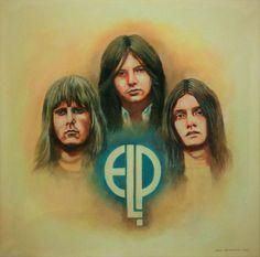 artwork by Andrei Vaseli Greg Lake, Emerson Lake & Palmer, Progressive Rock, Beautiful Voice, The Beatles, Going Out, Blues, Fan Art, Paint