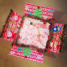 END of NOVEMBER:  X-Mas Package - Cute idea:  candy canes, ornaments, string lights, an advent calendar, Christmas cookies