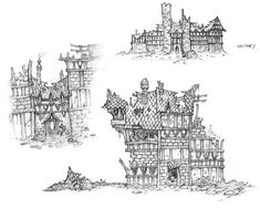World of Warcraft: Cataclysm Art & Pictures,  Buildings 2