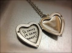 i carry your heart with me Locket Necklace | redditgifts I thnk she will like this #sheknows #dating #anniversary