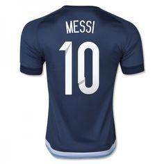 Argentina 2016 Lionel Messi 10 Borte Drakt Kortermet   #billige  #fotballdrakter