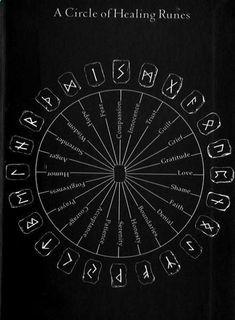 healing-runes Alphabet Symbols, Reiki Symbols, Magic Symbols, Symbols And Meanings, Norse Symbols, Egyptian Symbols, Viking Runes Alphabet, Welsh Symbols, Warrior Symbols