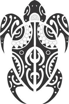 Resultado de imagem para tattoo maori tartaruga