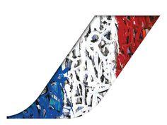L'artiste de streetart américain résidant en France vient de relooker un boeing 777 d'Air France en revisitant le logo de la compagnie et c'est plutôt réussi comme vous pouvez le voir sur la photo. Crédit photo instagram de Jonone