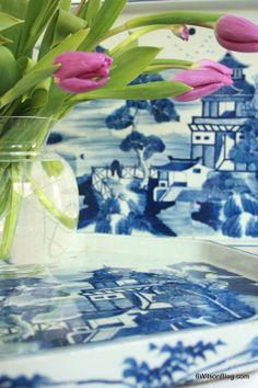 Blue and White via 6WilsonBlog.com